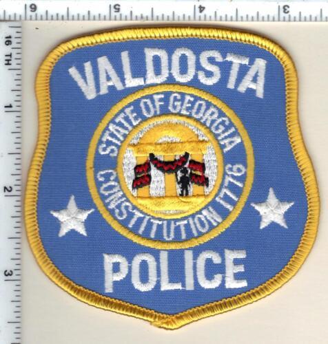 Valdosta Police (Georgia)  Shoulder Patch - new from 1990