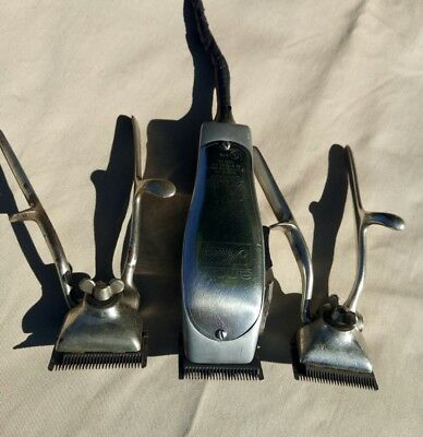 VINTAGE ANDIS MASTER WORKING & MANUAL CLIPPERS SELLING FOR PARTS OR REPAIR *JQ#3