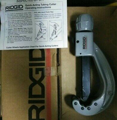 Ridgid 31642 Model 152 Quick-acting Tubing Cutter 14 - 2-58
