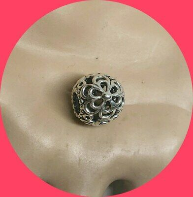 Authentic Pandora Daisies Open Flower Charm/Bead Silver 925 ALE 790965
