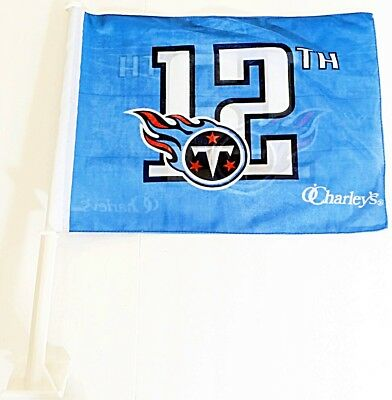 Tennessee Titans Car Flag Window Football Tailgate Truck NFL FREE SHIPPING!!