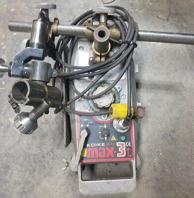 Koike Max 3t Metal Cutting Track Burner Model Ik-12 120 V Sn Kt 7593