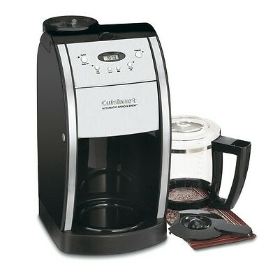 Conditioned Coffee Machine Maker 12 Cup Kettle Pot Electric Grinder Brew Kitchen