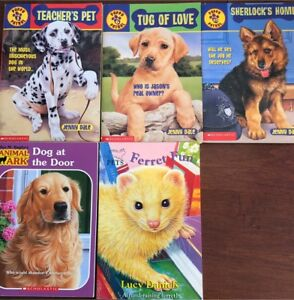 Scholastic Puppy Patrol and Animal Ark books