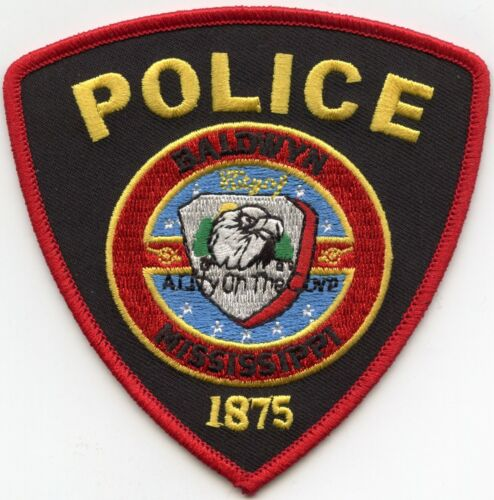 BALDWYN MISSISSIPPI MS POLICE PATCH