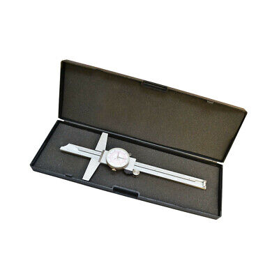 6 Inch Dial Caliper Ruler 150mm Metric Dual Mechanic Precision Measuring Tool