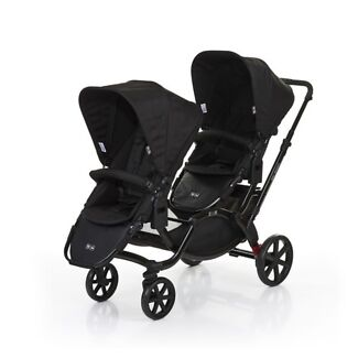 Wanted: ABC design twin pram with 2 seats also incudles a single frame