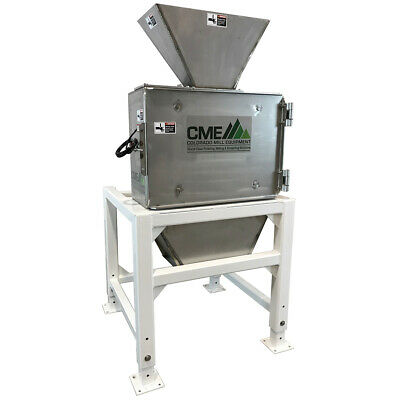 New Cme Stainless Steel 3hp Hammermill Grinder Usa Made - Hemp Hops Feed Corn