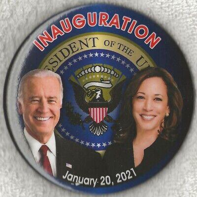 "2021 Joe Biden & Kamala Harris 3""/""Presidential Seal"" Inauguration Button(Pin39)"