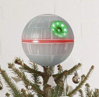 Disney Star Wars Death Star Christmas Tree Topper Hallmark Ornament NIB Holiday