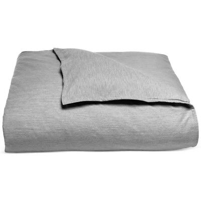 Ash Modern Bed - Hotel Collection 525 Thread Count ASH Yarn Dyed Full Queen Duvet Cover - $250