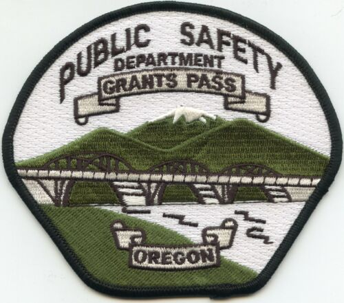 GRANTS PASS OREGON PUBLIC SAFETY POLICE PATCH