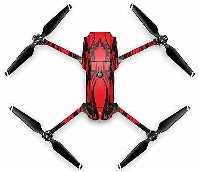 Wrap/Integument For DJI MAVIC PRO Quadcopter/Drone | KABUKI RED