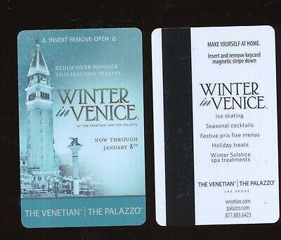 THE VENETIAN//THE PALAZZO---Las Vegas,NV----{near Mint condition}---Room Key-K-5