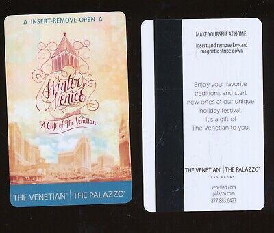 THE VENETIAN//THE PALAZZO---Las Vegas,NV----{near Mint condition}---Room Key-K-4