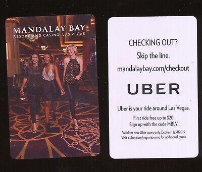 MANDALAY BAY RESORT AND CASINO---Las Vegas,NV-----Room Key-K-7