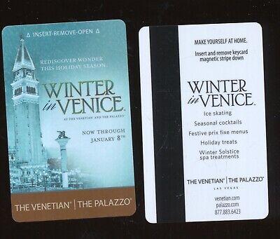 THE VENETIAN//THE PALAZZO---Las Vegas,NV----{near Mint condition}---Room Key-K-6