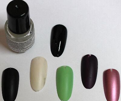 10 ml Matt Top cout Versiegelung Überlack matte Fingernägel für Farbig NagelLack