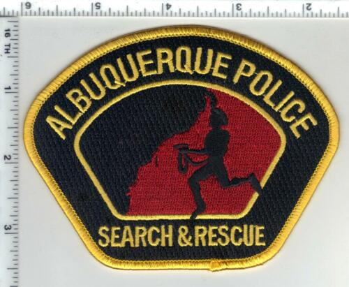 Albuquerque Police (New Mexico) 1st Issue Search & Rescue Shoulder Patch