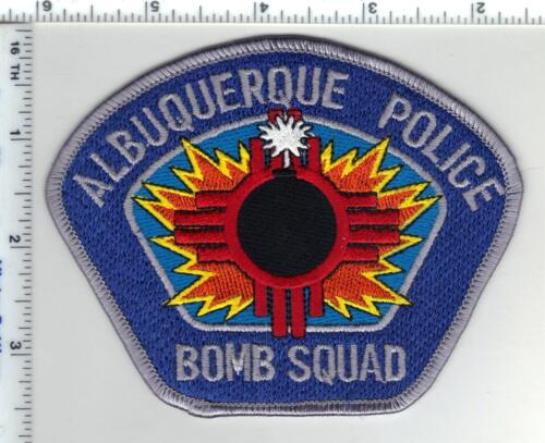 Albuquerque Police (New Mexico) Bomb Squad Shoulder Patch from the 1980