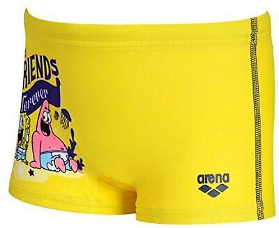arena Jungen Badehose Kleinkind Sponge, Yellow-Star, 92,