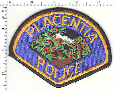 For sale Placentia Police (California) Shoulder Patch - new from the 1980's