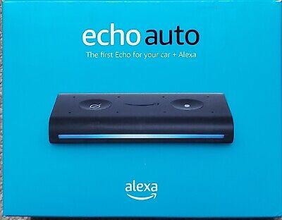 Amazon - Echo Auto Smart Speaker with Alexa - Black New!