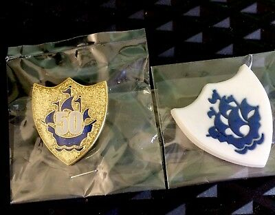 2 x Blue Peter badges New in wrapper, the best on ebay Fast Post wow !!!!!!!