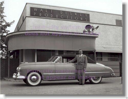 Walt Disney Iconic Convertible Car NEW 8x10 photo Buena Vista Studios 1940s