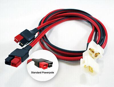 12v Radio T-connector Power To Anderson Powerpole Sermos Yaesu Icom Kenwood Volt