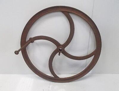 "Vintage Chaff Turn Wheel 34"""