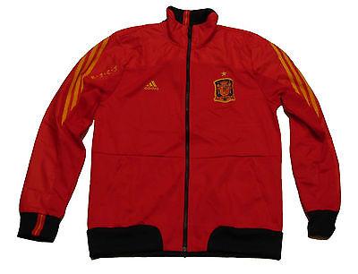 Spanien Spain Espana Trainingsjacke Tracktop Adidas Chaqueta 2011/12 L XL