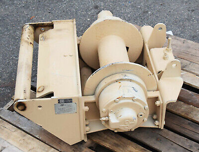 Dp 20000 Lb Military Hydraulic Planetary Drag Winch Integrated Fairlead Rollers
