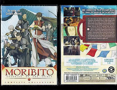 Moribito  Guardian Of The Spirit   Complete Collection Brand New 8 Dvd Anime Set