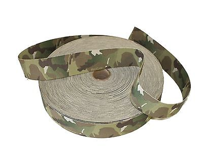 "50mm / 2"" Double Sided Original Crye Multicam Elastic ( Military Webbing MTP"