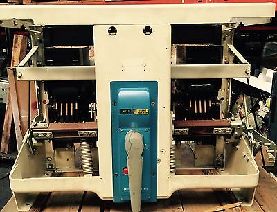 General Electric AK-2-100Circuit Breaker 4000 Amp MO BOLT IN. MVT LSIG