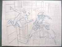 (prl) Spiderman Vs Goblin Mike Wieringo Ringo Matita Originale Original Pencil -  - ebay.it