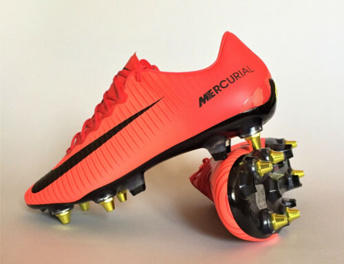 Nike Mercurial Vapor XI SG-PRO AC 889287-616 University Red Soccer Cleats