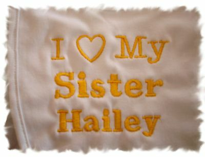 Custom Personalized  Baby Bibs You choose the wording