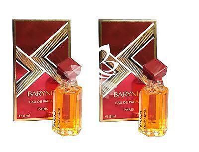 Helena Rubinstein Barynia MINI Miniature Travel Women Perfume 5ml x2 EDP