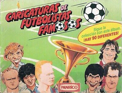 ALBUM CROMOS FUTBOL FACSIMIL FUTBOL 90-91 PANRICO COMPLETO Y NUEVO