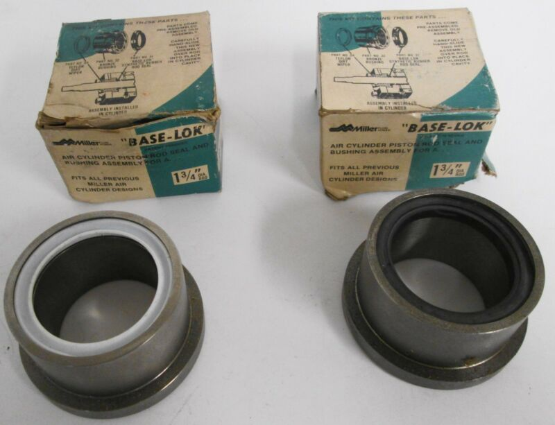 (2) Miller 051-KR014-175 Hydraulic Cylinder Rod Seal