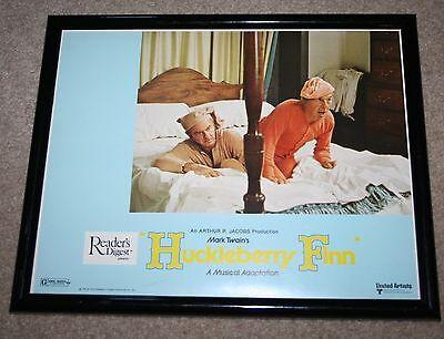 1974 Huckleberry Finn Movie Press Release Lithograph Poster Harvey Korman
