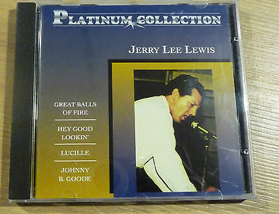CD Platinum Collection - JERRY LEE LEWIS - 018
