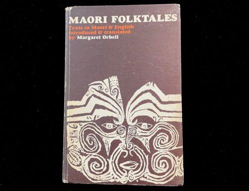 MAORI FOLKTALES TEXTS IN MAORI & ENGLISH MARGARET ORBELL 1968  EX HAWAII LIBRARY