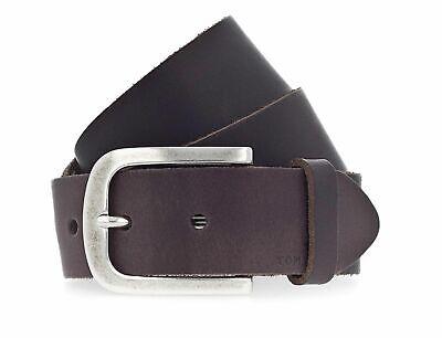 TOM TAILOR Classic Kids Belt 3.5 W70 Gürtel Accessoire Darkbrown Braun Neu