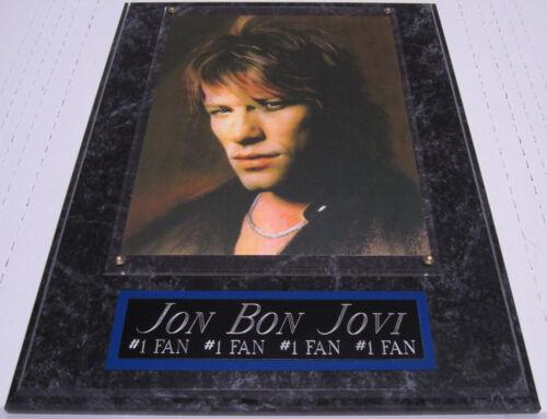 #1 FAN JON BON JOVI FRAMED 8X10 ART PRINT/PHOTO-12X15 WALL PLAQUE DISPLAY DECOR