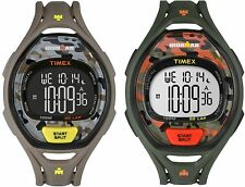 Timex Ironman Sleek 50-Lap | Full-Size Timer Recall Camouflage | Sport Watch