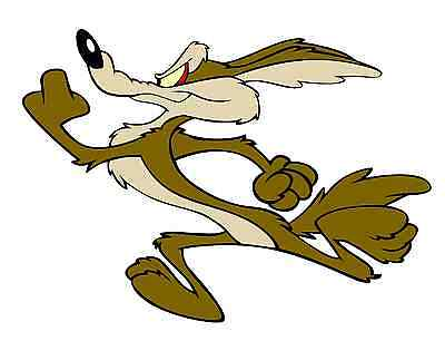 Wile E Coyote (Running left) Vinyl Decal / Sticker ** 5 Sizes **