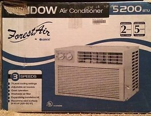 5200 BTU Window Air Conditioner